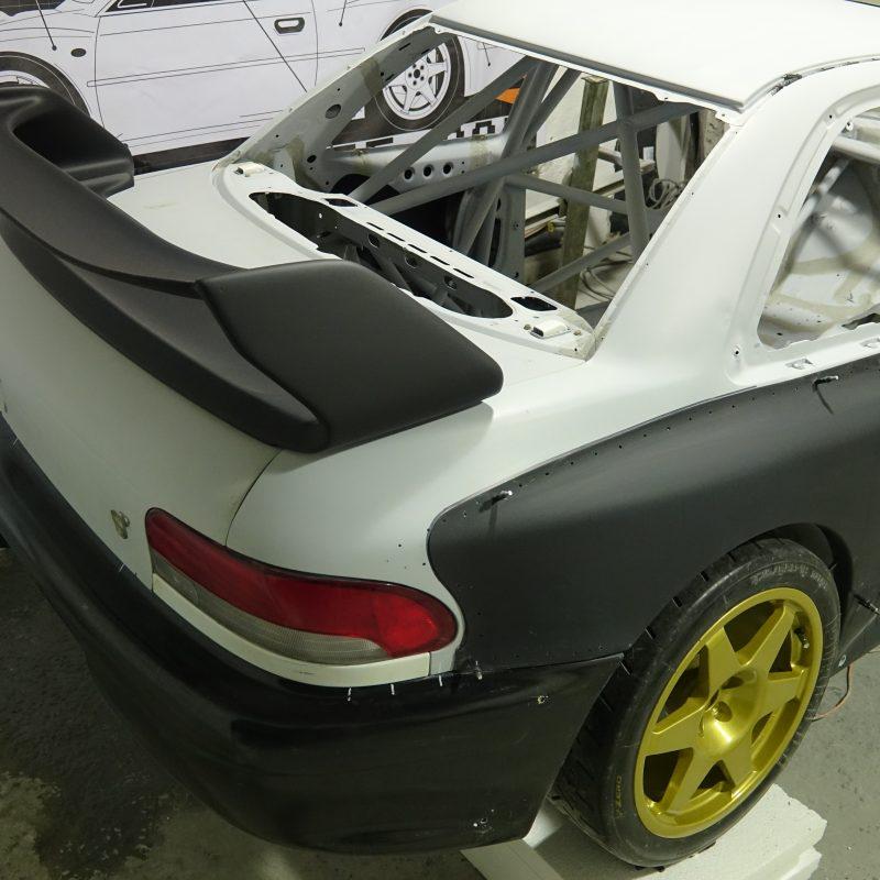 Spoiler WRC Prodrive S6/P2000