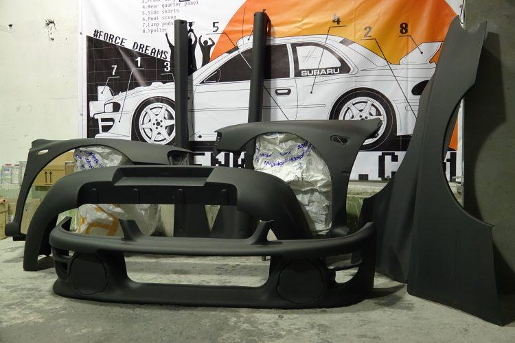 Wide Body Kit WRC Prodrive for Subaru Impreza GC8