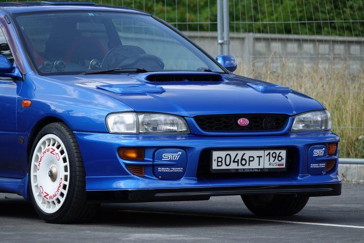 Front Lip Spoiler Style WRC P2000 for STI bumper ver. 5-6