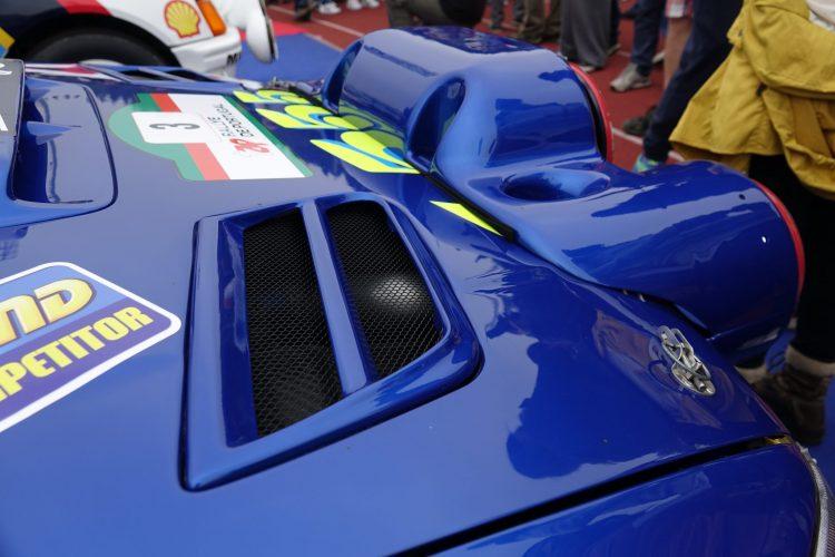 Hood Vents WRC Prodrive S5