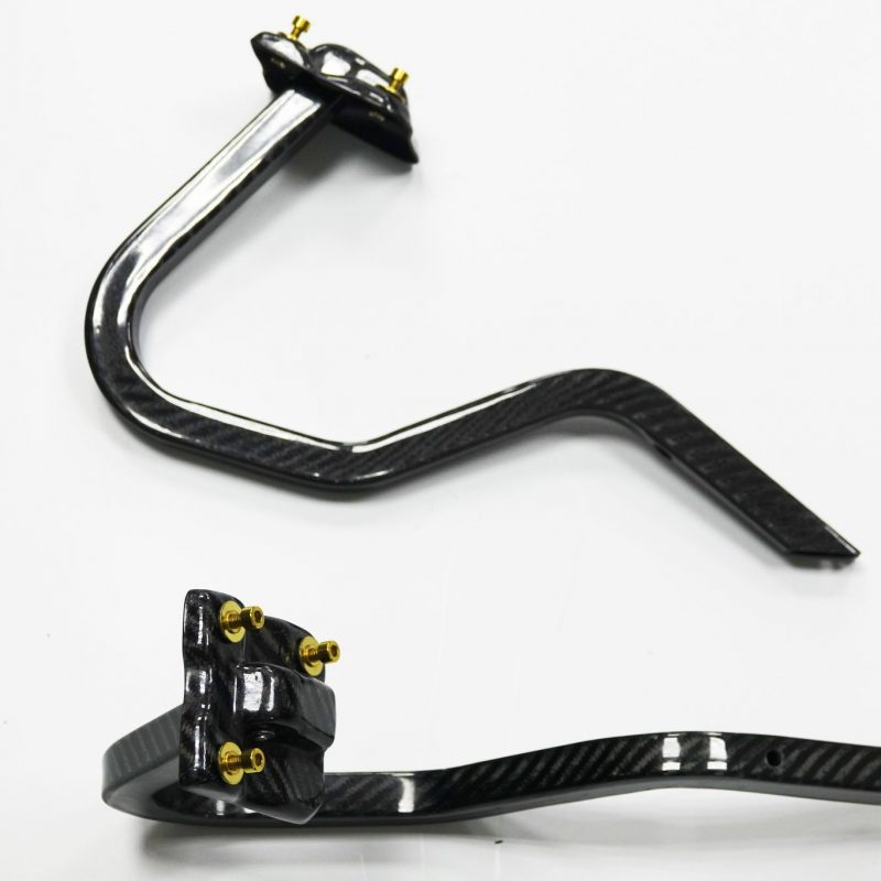 Carbon Hinges for Subaru Impreza GC8