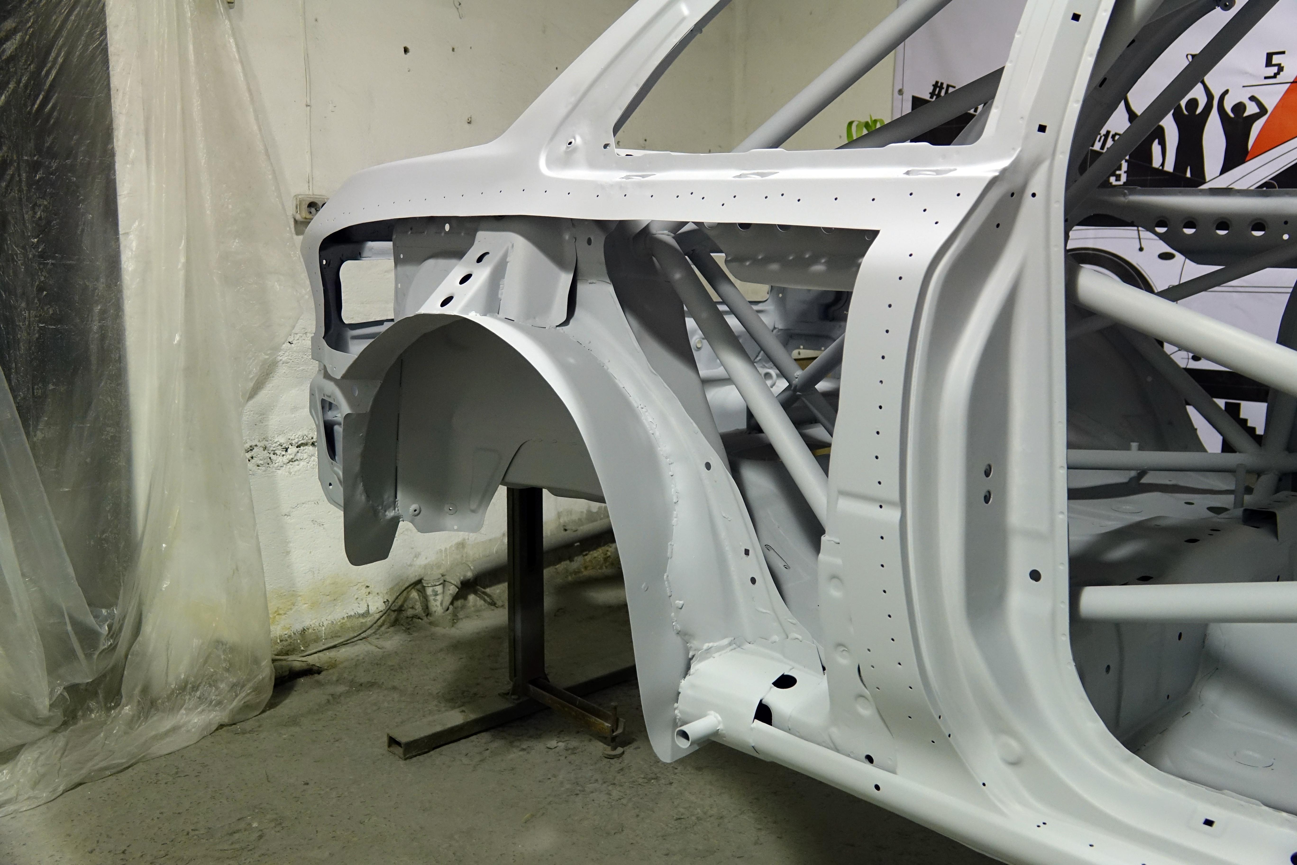 Wide Body Kit WRC Prodrive for Subaru Impreza GC8 - Force DREAMS
