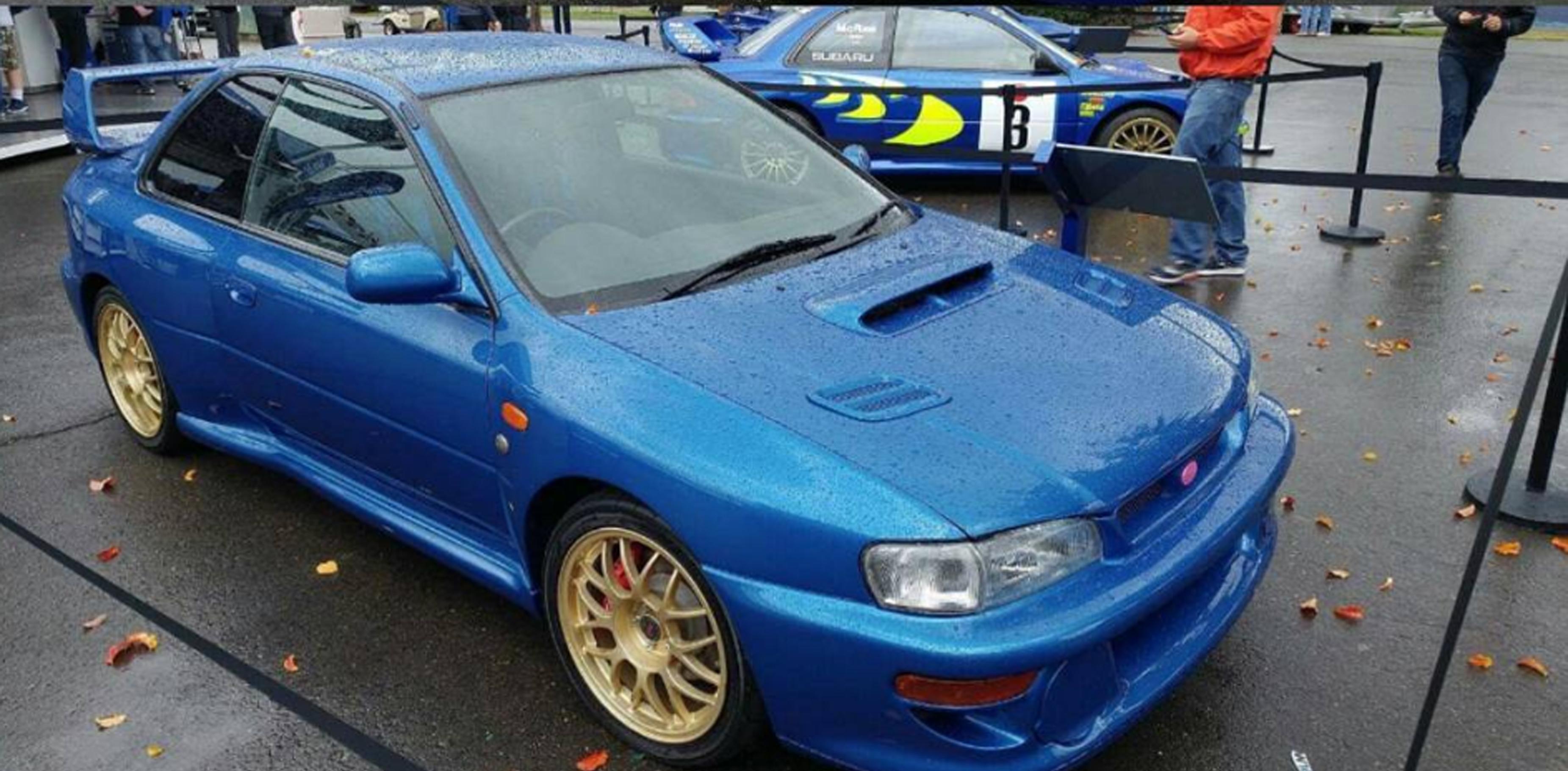 Wide Body Kit WRC Prodrive for Subaru Impreza GC8 - Force