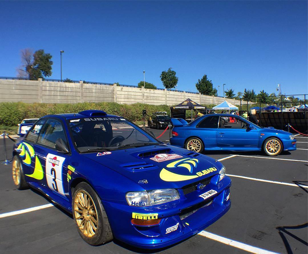 Wide Body Kit WRC Prodrive for Subaru Impreza GC8 - Force ...